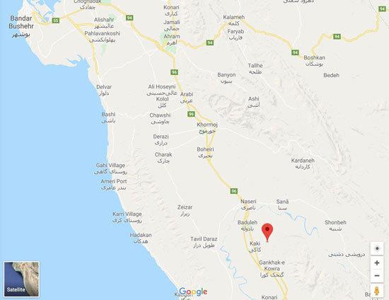 زلزله ۵.۹ ریشتری در بوشهر