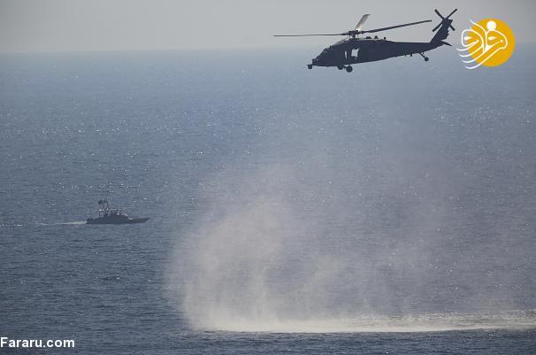 جزئیاتی از اقدامات سپاه در محدوده «ناو آمریکایی» در خلیج فارس