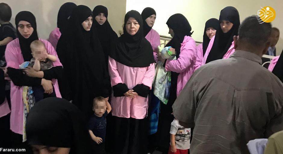عکس/ بازگشت ۳۰ کودک داعشی به خانه