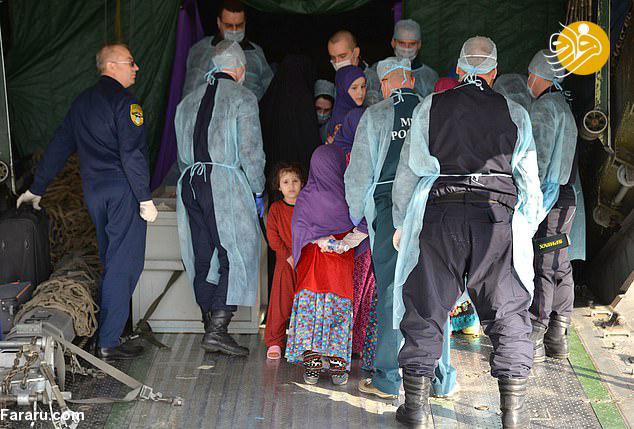 (تصاویر) بازگشت ۳۰ کودک داعشی به خانه