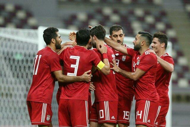 پیروزی فوتبال ایران در دیدار دوستانه برابر قطر