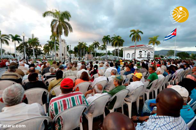 (تصاویر) جشن انقلاب در آرامگاه کاسترو