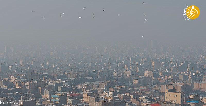 انتشار بوی نامطبوع و مرموز در بخش وسیعی از تهران