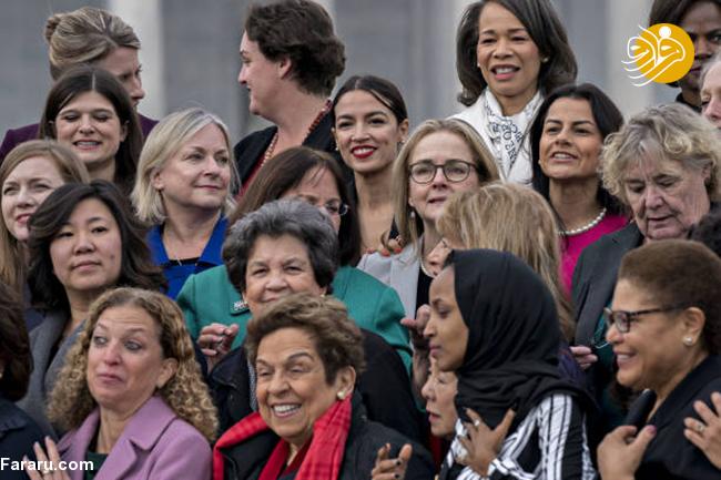(تصاویر) زنان راه یافته به مجلس نمایندگان آمریکا