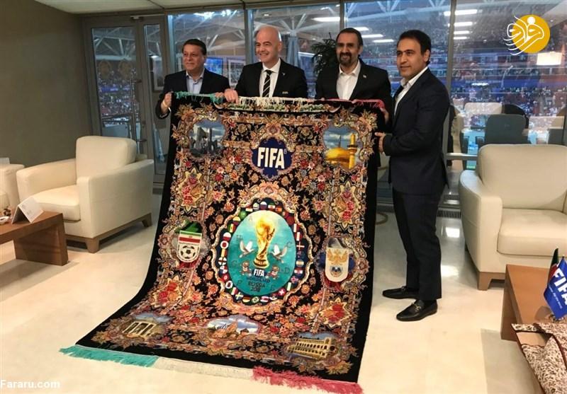 فرشهایی که به اسم فوتبال از ایران بیرون میرود!