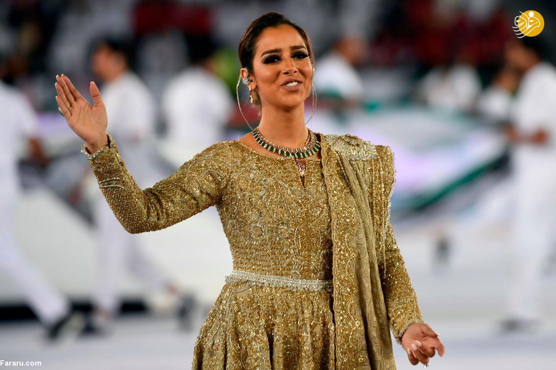 (تصاویر) خواننده زن مراسم افتتاحیه جام ملتهای آسیا که بود؟