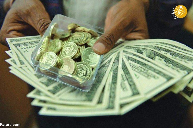 قیمت طلا و قیمت سکه در بازار امروز یکشنبه ۱۶ در ۹۷