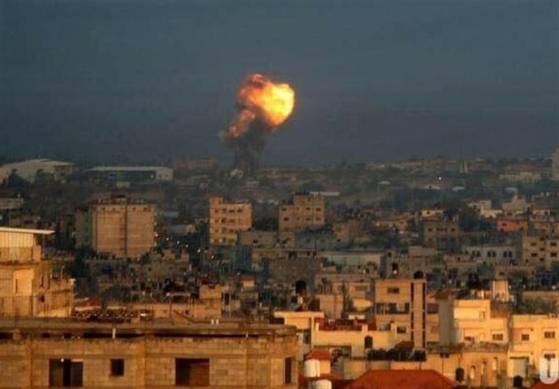 حمله جنگندههای اسرائیل به نوار غزه