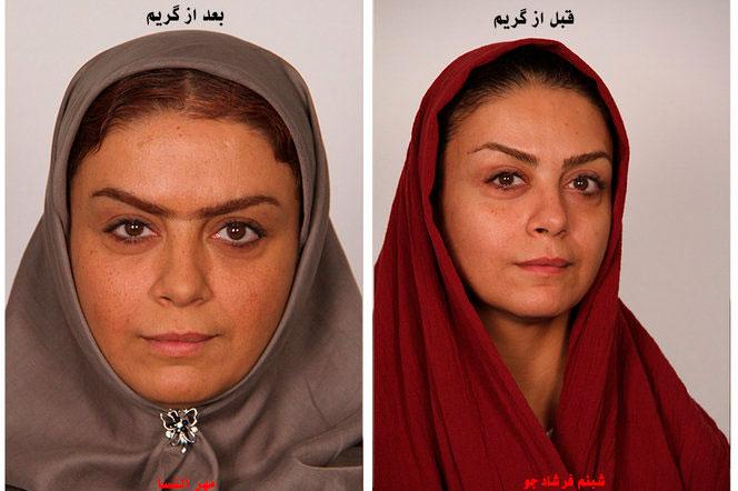 (تصاویر) بازیگران سریال «بانوی عمارت» قبل و بعد از گریم