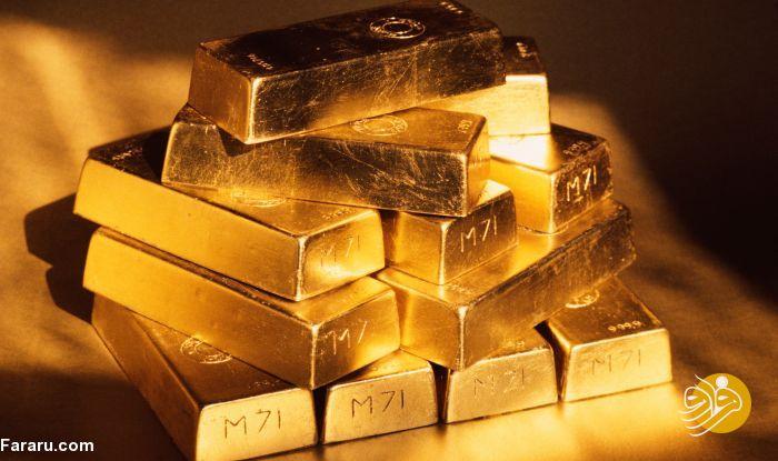 کاهش قیمت طلای جهانی همزمان با افزایش قیمت سهام آمریکا