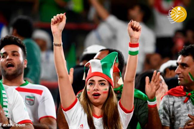 (تصاویر) تماشاگران دیدار ایران و یمن در جام ملتهای آسیا