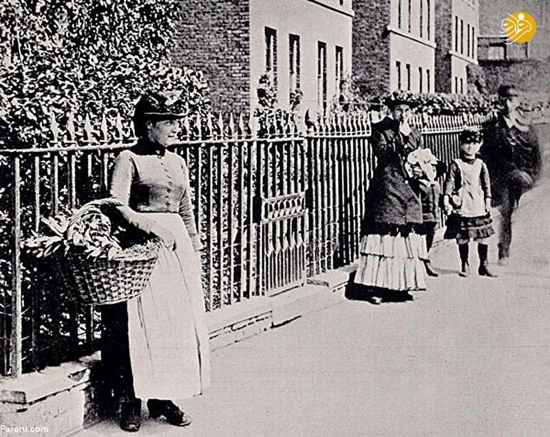 (تصاویر) فروشندگان خیابانی در گرینوچ لندن؛ ۱۳۵ سال قبل