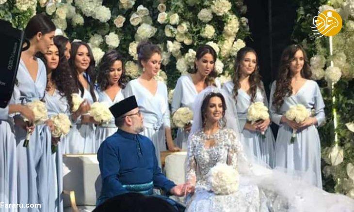 (تصاویر) پایان غمناک پادشاه مالزی پس از ازدواج با ملکه زیبایی روس