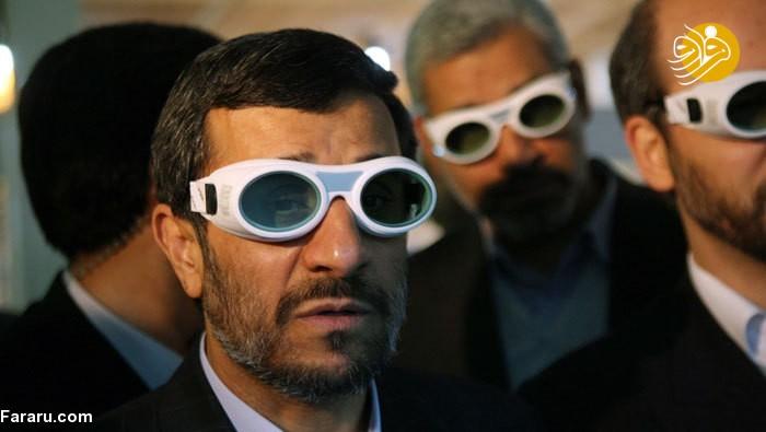 پاسخ به توییت ظریف با تصویر احمدینژاد!