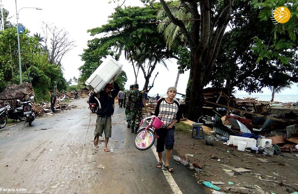 (تصاویر) سونامی با اندونزی چه کرد؟