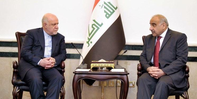 دیدار زنگنه با نخست وزیر عراق