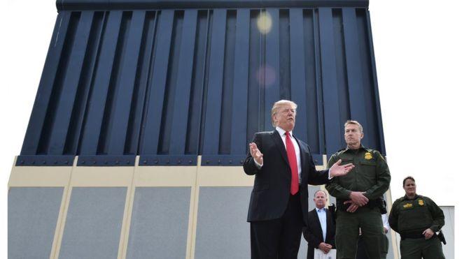 چه مقدار از دیوار ترامپ تا حالا ساخته شده؟