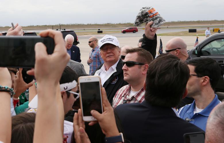 (تصاویر) اعتراض به ترامپ در نقطه صفر مرزی
