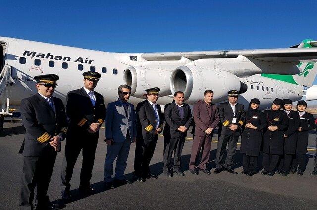 (تصاویر) از سرگیری پرواز تهران_ یاسوج پس از ۱۱ ماه