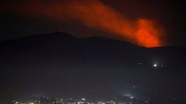 جنگندههای اسرائیل به اهدافی در دمشق حمله کردند