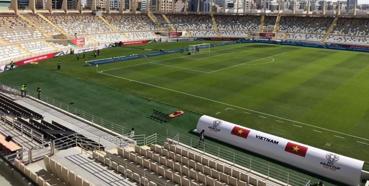 (تصاویر) تدابیر شدید امنیتی در اطراف ورزشگاه بازی ایران و ویتنام