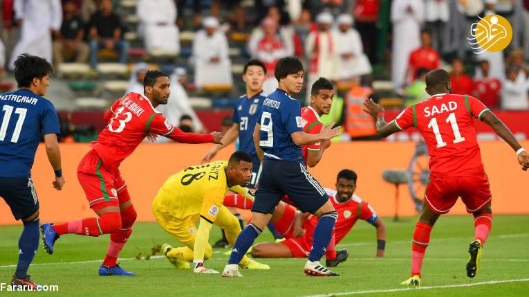 (ویدئو) خلاصه بازی ژاپن ۱-عمان صفر
