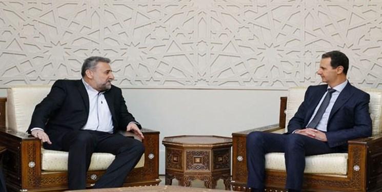 دیدار «فلاحتپیشه» با بشار اسد