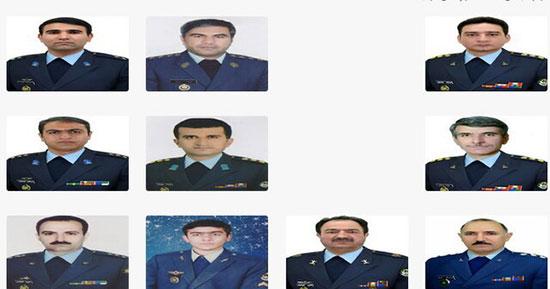 لیست کامل اسامی شهدای سانحه سقوط بوئینگ ۷۰۷