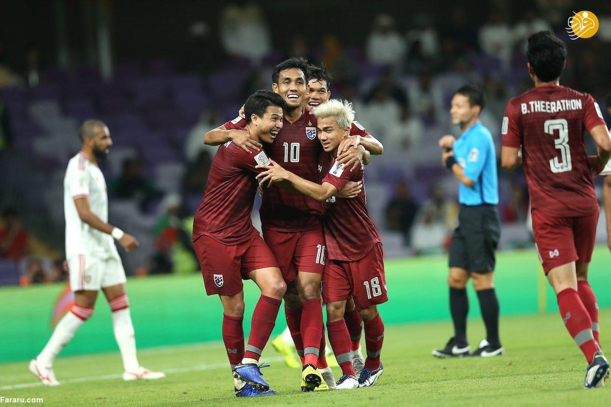 (ویدئو) خلاصه بازی تایلند 1-1 امارات