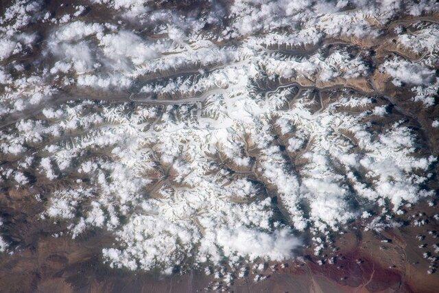 (تصاویر) زمین، نمایشگاه تابلوهای شگفتانگیز از منظر فضا+تصاویر