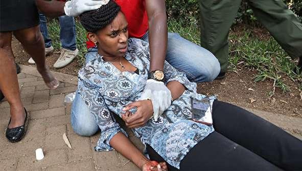 (تصاویر) حمله مرگبار الشباب به هتلی در پایتخت کنیا