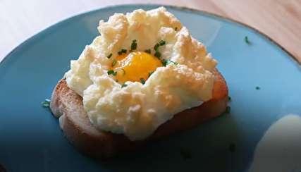مدلی جذاب و اشتها آور از پخت تخممرغ!