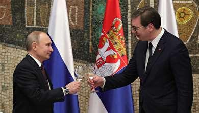 سفر پوتین به صربستان