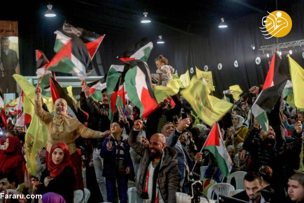 (تصاویر) ازدواج دسته جمعی فلسطینیها