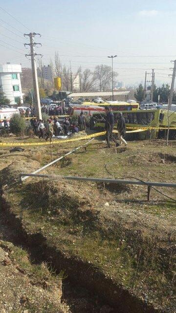 (تصاویر) حادثه مرگبار در دانشگاه آزاد