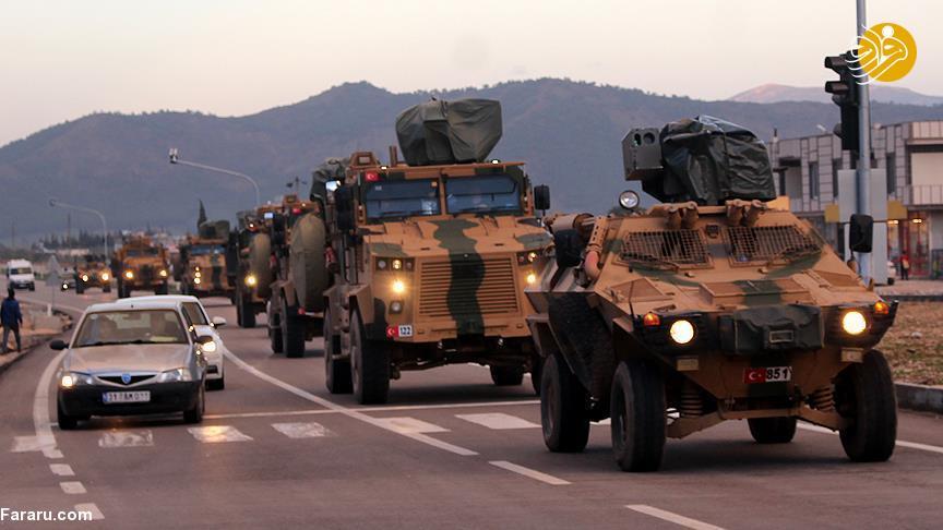 (ویدئو) شروع نزدیک عملیات گسترده نظامی ترکیه در سوریه
