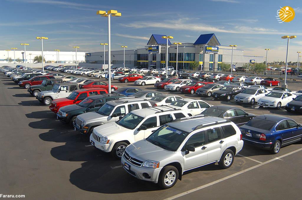 قیمت خودروها در بازار امروز 9 دی 97؛ پژوپارس۷۰ میلیون تومان