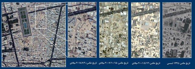صاف کردن حریم درجه یک نقش جهان اصفهان با خاک!
