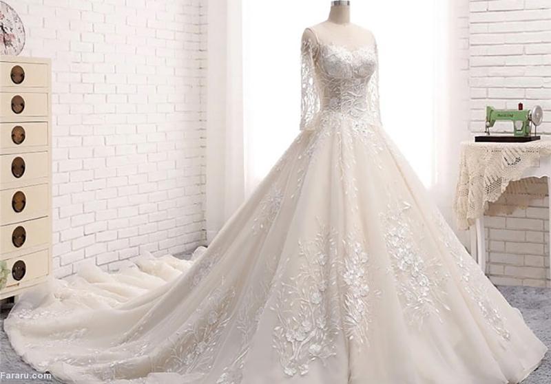 نکاتی برای انتخاب لباس عروس در مزون /تکمیل شد/ بهاره