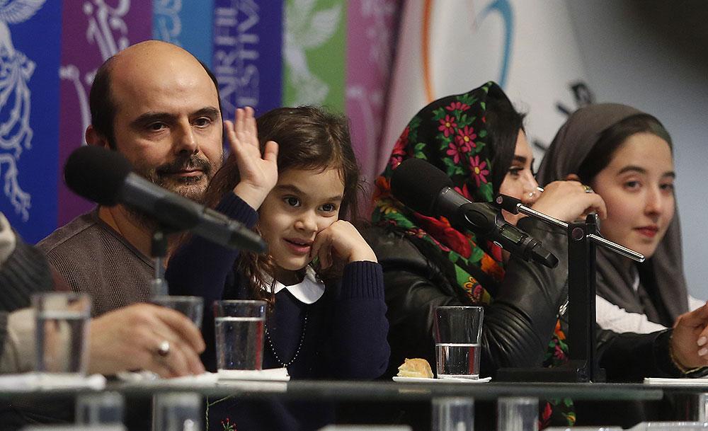 (تصاویر) لیلا حاتمی و علی مصفا در نشست