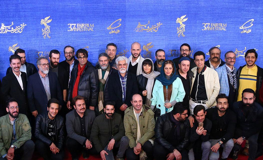 (تصاویر) نشست خبری سیاسیترین فیلم جشنواره فیلم فجر