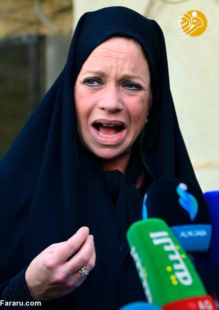 (تصاویر) پوشش جالب خانم نماینده در دیدار با آیت الله سیستانی