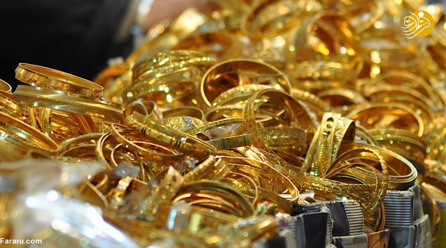 قیمت طلای ۱۸ عیار در بازار امروز 1397/11/18