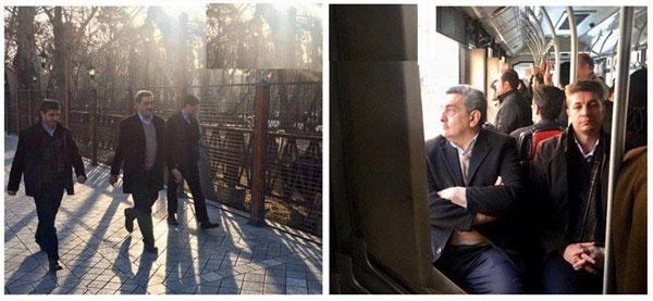 (تصویر) نهمین «سهشنبه بدون خودرو» شهردار تهران