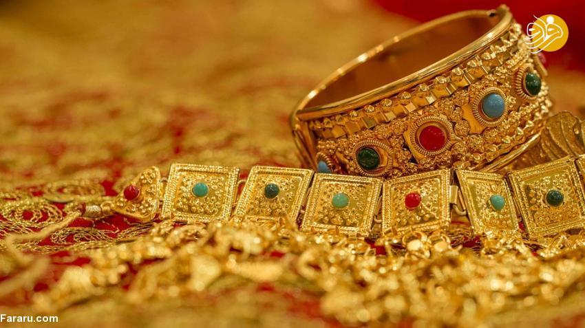 قیمت طلای ۱۸ عیار در بازار امروز یکشنبه ۱۳۹۷/۱۱/۲۱