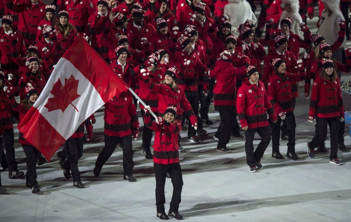 ورزشکاران کانادا