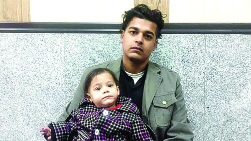 دختر ربوده شده