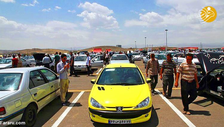 قیمت انواع خودرو در بازار امروز ۱۴ بهمن ۹۷