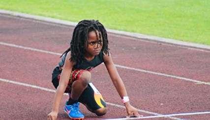 یوسین بولت جدید؛ کودک ۷ ساله رکورد دار دو سرعت!