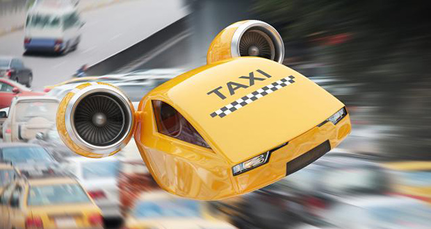 استفاده از تاکسیهای پرنده در فرودگاه فرانکفورت